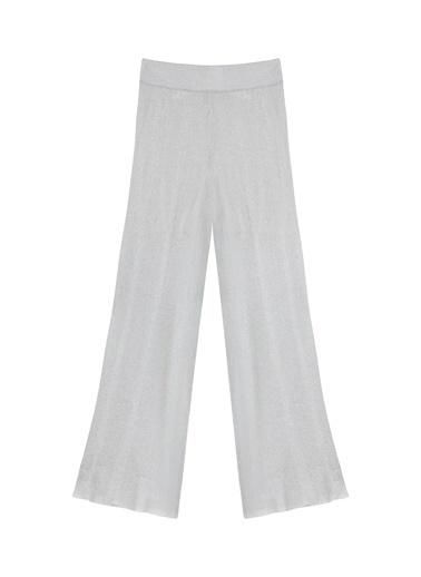 Ipekyol Yüksek Bel Pilisoley Pantolon Gri